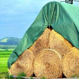Strohballenschutzvlies grün 10,4 x 12,5 m