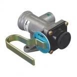 Bremskraftregler mit Handgriff Zweikreis-Bremsanlage